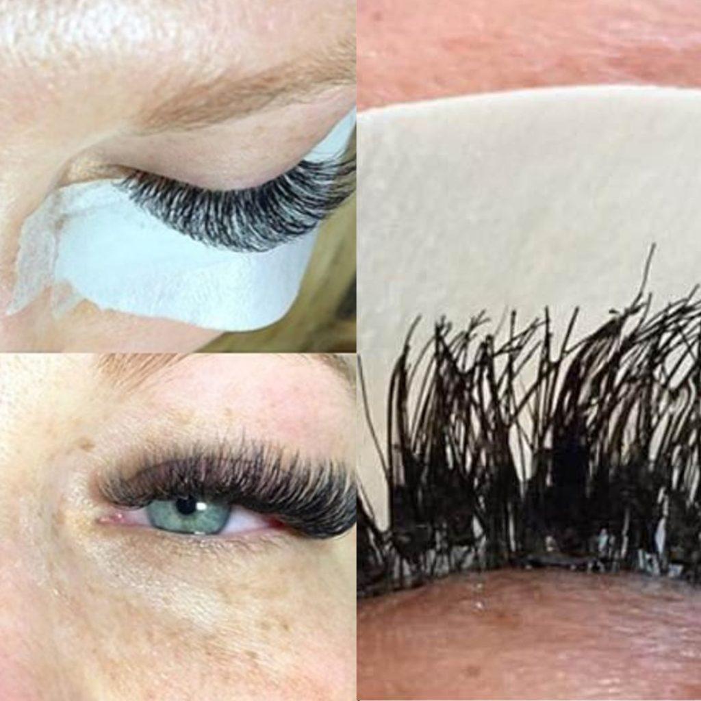 Volume lash extensions VS. Cluster lashes